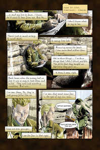 "Heroes inc. ""Specimens"" – Page 1"