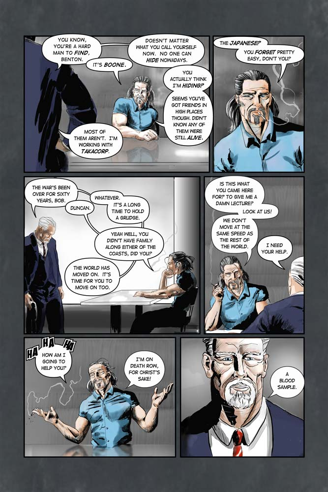 "Heroes inc. ""Specimens"" – Page 6"