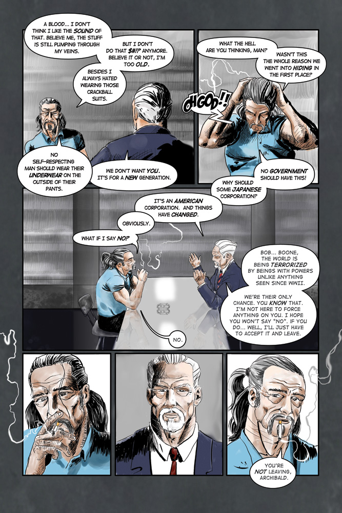 """Heroes inc. """"Specimens"""" – Page 7"""