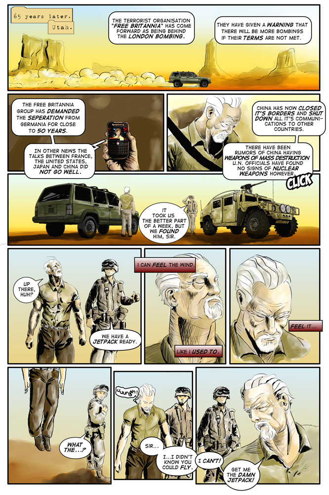 "Heroes inc. ""Specimens"" – Page 11"