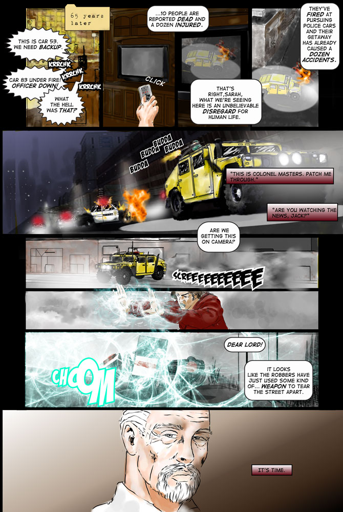 """Heroes inc. """"Specimens"""" – Page 16"""