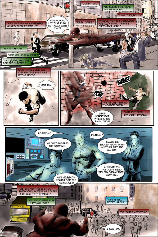"""Heroes inc. """"Specimens"""" – Page 25"""