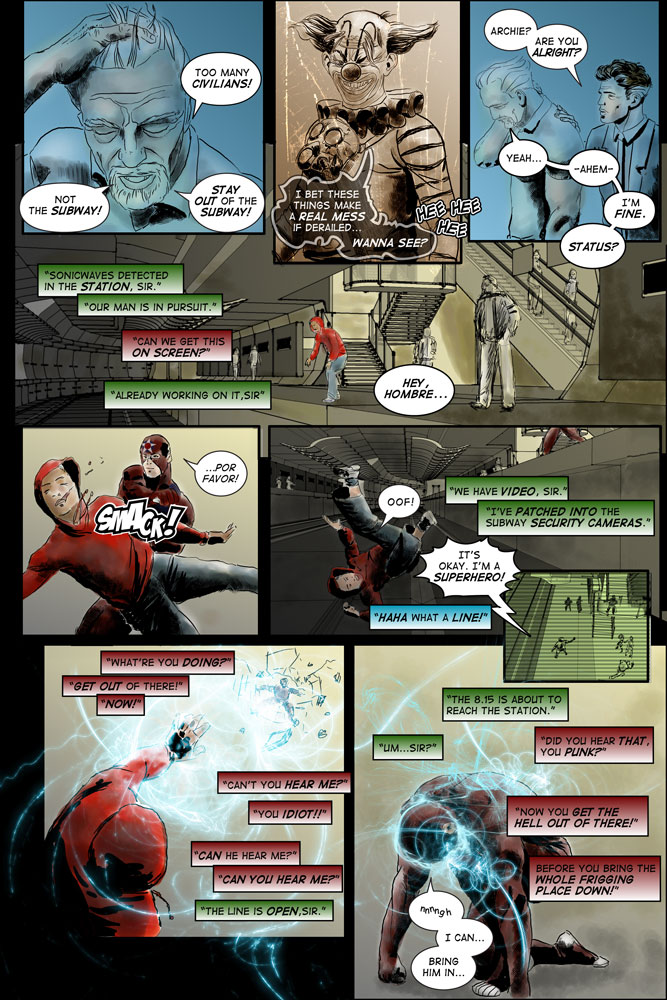 "Heroes inc. ""Specimens"" – Page 26"