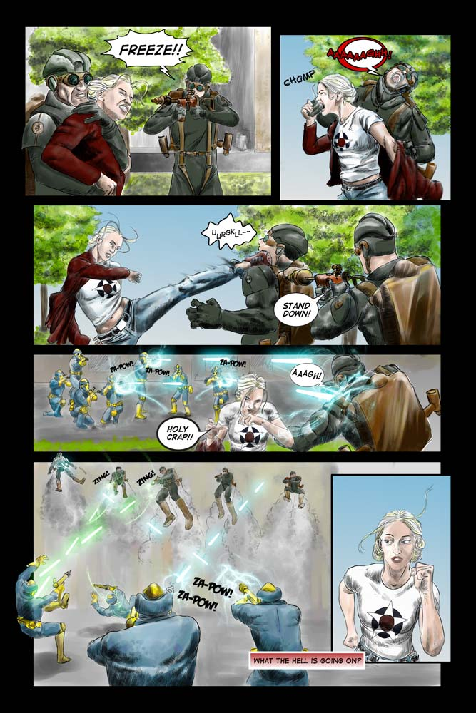 Heroes inc. -Book II, Page 17