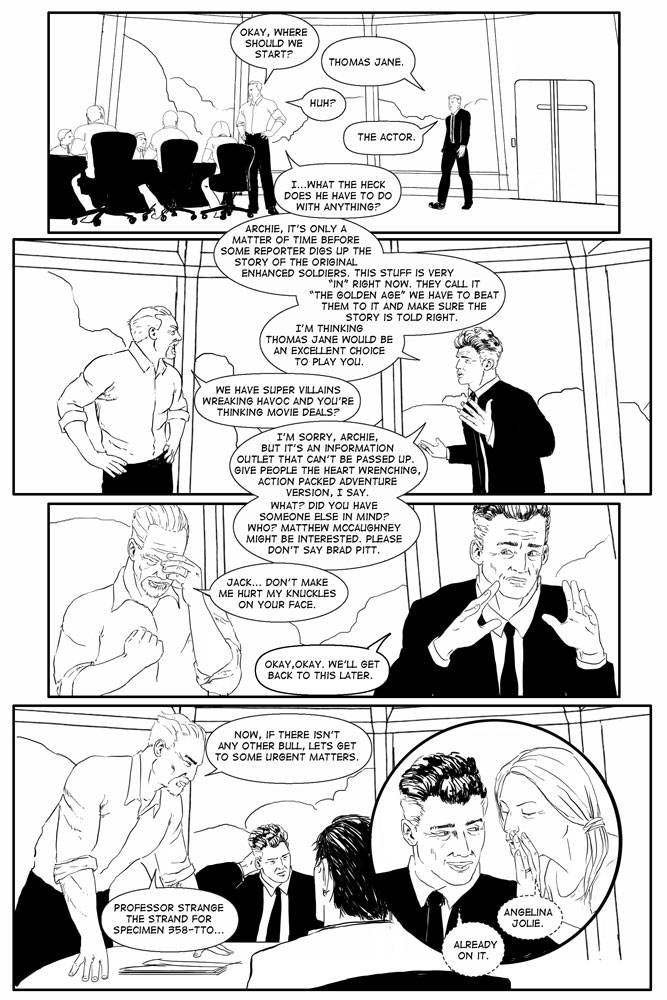 Heroes inc. – Book IV, Page11