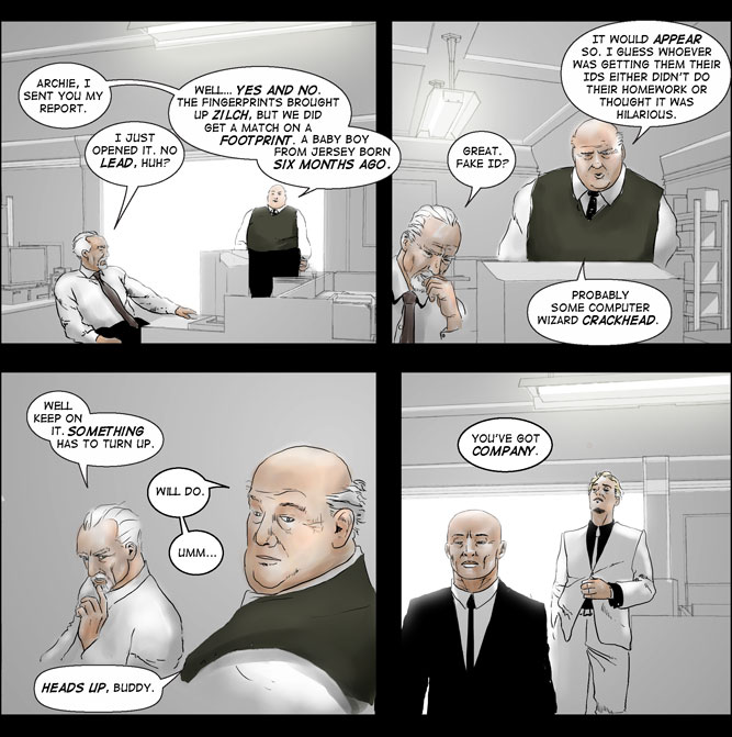 Heroes, inc. – Book IV, Page 26-27-A